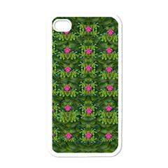 The Most Sacred Lotus Pond With Fantasy Bloom Apple Iphone 4 Case (white)