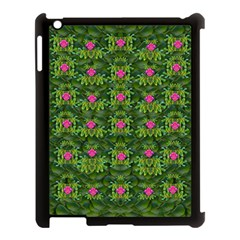 The Most Sacred Lotus Pond With Fantasy Bloom Apple Ipad 3/4 Case (black) by pepitasart