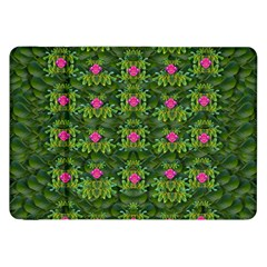 The Most Sacred Lotus Pond With Fantasy Bloom Samsung Galaxy Tab 8 9  P7300 Flip Case by pepitasart