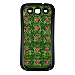 The Most Sacred Lotus Pond With Fantasy Bloom Samsung Galaxy S3 Back Case (black)