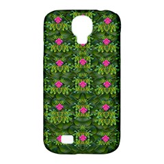 The Most Sacred Lotus Pond With Fantasy Bloom Samsung Galaxy S4 Classic Hardshell Case (pc+silicone) by pepitasart