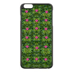 The Most Sacred Lotus Pond With Fantasy Bloom Apple Iphone 6 Plus/6s Plus Black Enamel Case by pepitasart