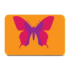 Butterfly Wings Insect Nature Plate Mats by Nexatart
