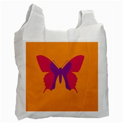 Butterfly Wings Insect Nature Recycle Bag (two Side)