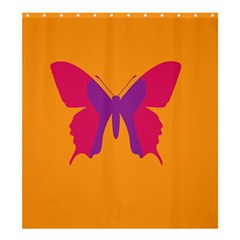 Butterfly Wings Insect Nature Shower Curtain 66  X 72  (large)  by Nexatart