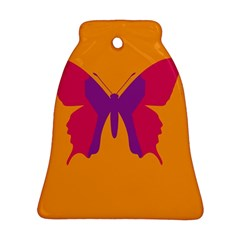 Butterfly Wings Insect Nature Ornament (bell)