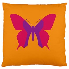 Butterfly Wings Insect Nature Large Cushion Case (two Sides)