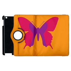 Butterfly Wings Insect Nature Apple Ipad 2 Flip 360 Case