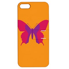 Butterfly Wings Insect Nature Apple Iphone 5 Hardshell Case With Stand