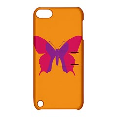 Butterfly Wings Insect Nature Apple Ipod Touch 5 Hardshell Case With Stand