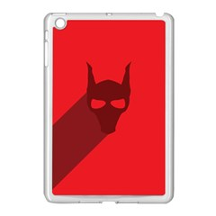 Skull Alien Species Red Character Apple Ipad Mini Case (white)