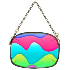 Lines Curves Colors Geometric Lines Chain Purse (one Side)