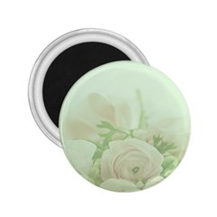 Pastel Roses Background Romantic 2 25  Magnets