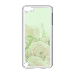 Pastel Roses Background Romantic Apple Ipod Touch 5 Case (white)