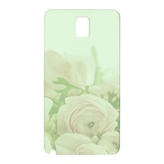 Pastel Roses Background Romantic Samsung Galaxy Note 3 N9005 Hardshell Back Case by Nexatart