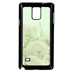 Pastel Roses Background Romantic Samsung Galaxy Note 4 Case (black)
