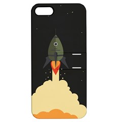 Rocket Space Stars Apple Iphone 5 Hardshell Case With Stand