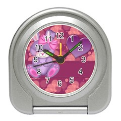 Illustration Love Celebration Travel Alarm Clock