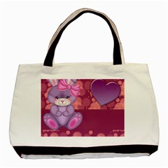Illustration Love Celebration Basic Tote Bag