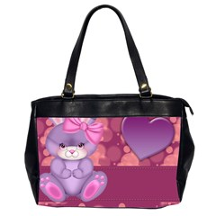 Illustration Love Celebration Oversize Office Handbag (2 Sides)