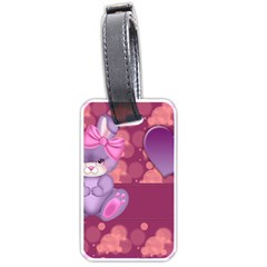 Illustration Love Celebration Luggage Tags (two Sides)