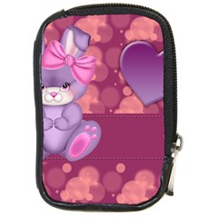 Illustration Love Celebration Compact Camera Leather Case by Nexatart
