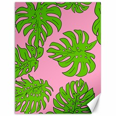 Leaves Tropical Plant Green Garden Canvas 12  X 16  by Nexatart