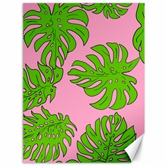 Leaves Tropical Plant Green Garden Canvas 36  X 48