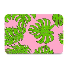 Leaves Tropical Plant Green Garden Plate Mats