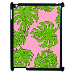 Leaves Tropical Plant Green Garden Apple Ipad 2 Case (black)