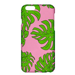 Leaves Tropical Plant Green Garden Apple Iphone 6 Plus/6s Plus Hardshell Case by Nexatart