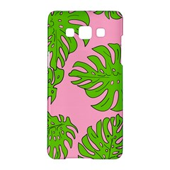 Leaves Tropical Plant Green Garden Samsung Galaxy A5 Hardshell Case