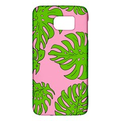 Leaves Tropical Plant Green Garden Samsung Galaxy S6 Hardshell Case