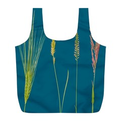 Grass Grasses Blade Of Grass Full Print Recycle Bag (l) by Nexatart