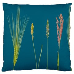 Grass Grasses Blade Of Grass Large Flano Cushion Case (one Side)