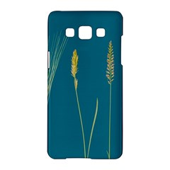 Grass Grasses Blade Of Grass Samsung Galaxy A5 Hardshell Case  by Nexatart