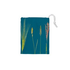 Grass Grasses Blade Of Grass Drawstring Pouch (xs)
