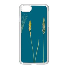 Grass Grasses Blade Of Grass Apple Iphone 7 Seamless Case (white)