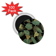 Autumn Fallen Leaves Dried Leaves 1 75  Magnets (100 Pack)  by Nexatart