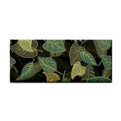Autumn Fallen Leaves Dried Leaves Hand Towel by Nexatart