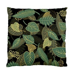 Autumn Fallen Leaves Dried Leaves Standard Cushion Case (two Sides) by Nexatart