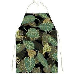 Autumn Fallen Leaves Dried Leaves Full Print Aprons by Nexatart