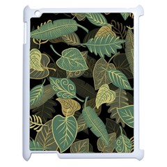 Autumn Fallen Leaves Dried Leaves Apple Ipad 2 Case (white) by Nexatart