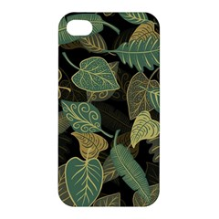 Autumn Fallen Leaves Dried Leaves Apple Iphone 4/4s Premium Hardshell Case