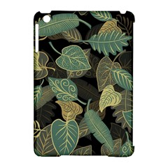 Autumn Fallen Leaves Dried Leaves Apple Ipad Mini Hardshell Case (compatible With Smart Cover)
