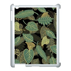 Autumn Fallen Leaves Dried Leaves Apple Ipad 3/4 Case (white) by Nexatart