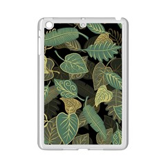 Autumn Fallen Leaves Dried Leaves Ipad Mini 2 Enamel Coated Cases by Nexatart