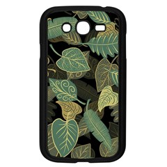 Autumn Fallen Leaves Dried Leaves Samsung Galaxy Grand Duos I9082 Case (black)
