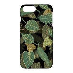 Autumn Fallen Leaves Dried Leaves Apple Iphone 7 Plus Hardshell Case