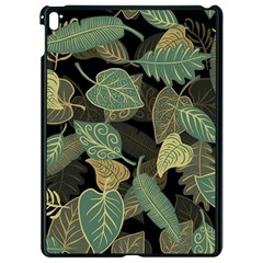 Autumn Fallen Leaves Dried Leaves Apple Ipad Pro 9 7   Black Seamless Case